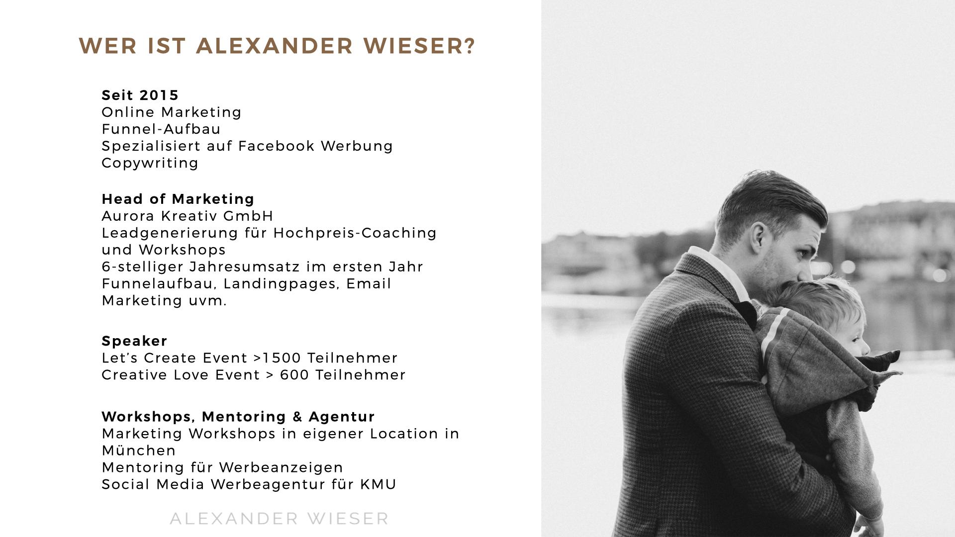 Wer ist Alexander Wieser