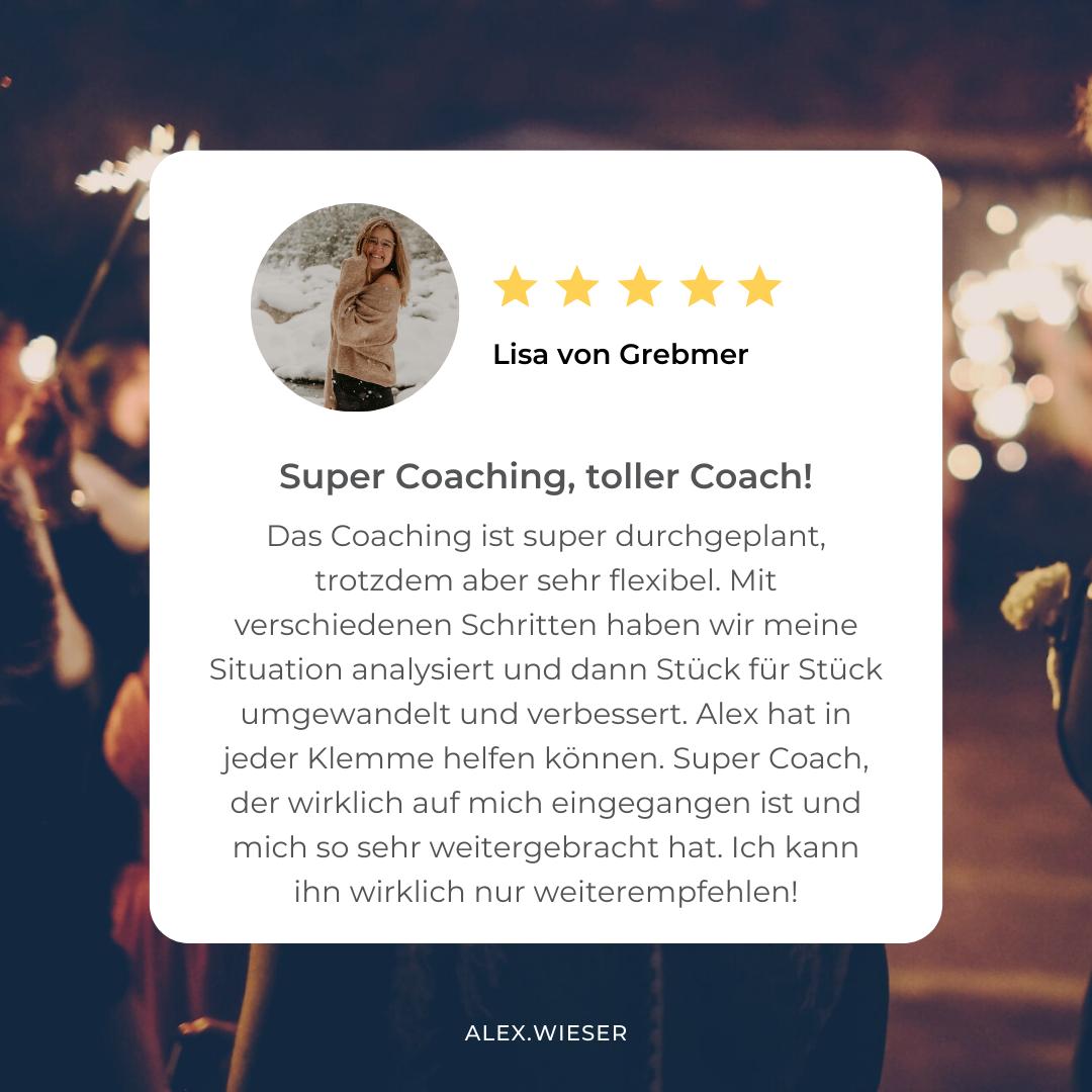 Testimonial Lisa von Grebmer